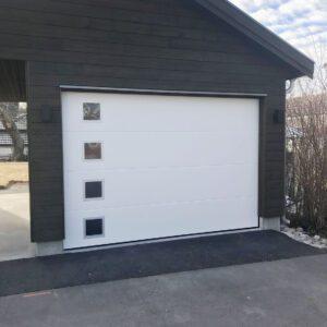 Garasjeport Med Vinduer PK 4 Web