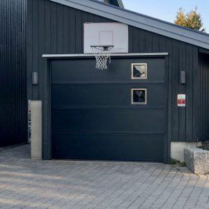 Lobas Garasjeport Svart Port