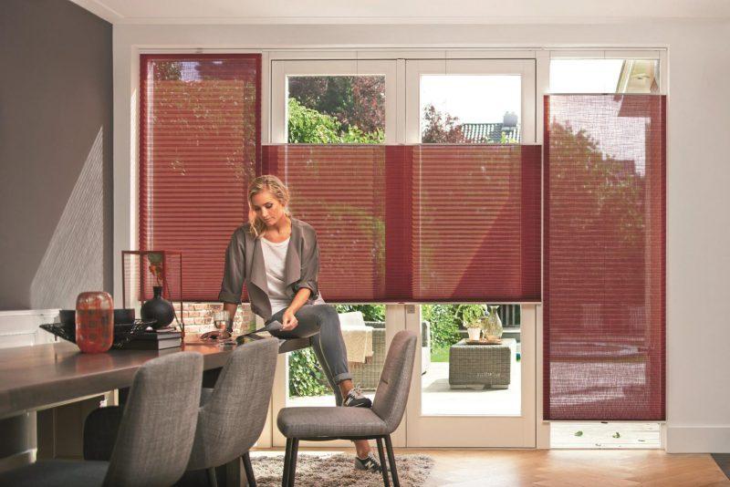 Plisségardiner kan enkelt skreddersys i bredde og høyde slik at de blir perfekte til din bolig.
