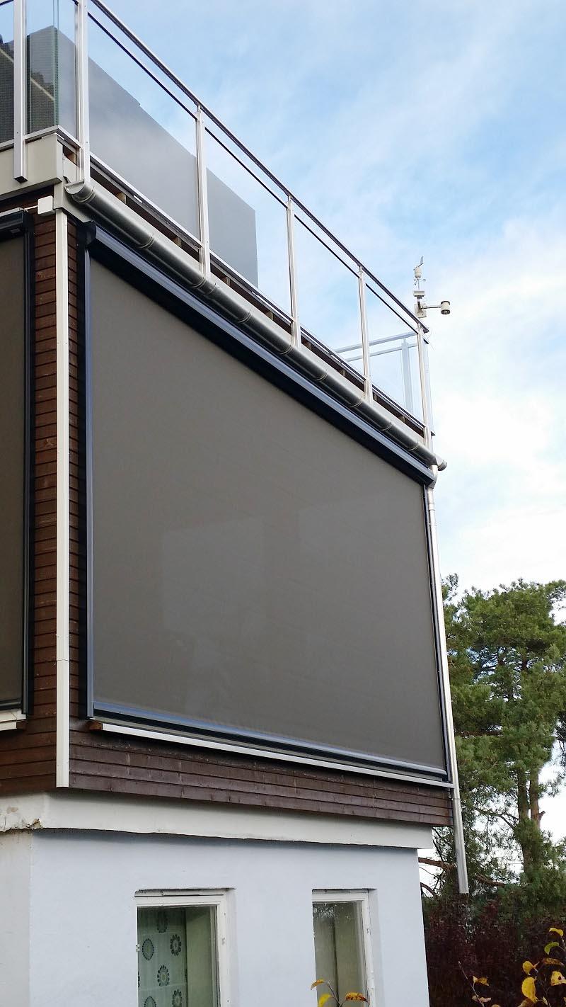 Zip Screens - Kjells Markiser