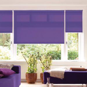 Rullegardiner kan komplementere møbler eller annen innredning i hjemmet. Kjells markiser har gardiner i over 130 forskjellige farger.