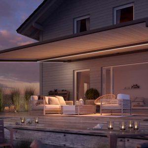 Lun kveldssteming. Pergolino med nytt design fra 2020