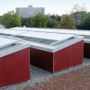 Fasadeprodukter Glasstak Markise
